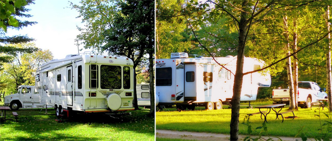 Kritter's Northcountry Campground and Cabins   Campgrounds